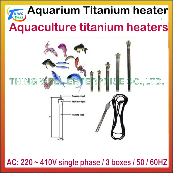 Aquaculture titanium heaters (series)