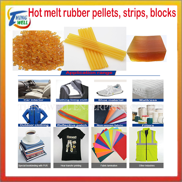 PE, PES, PA, EVA, TPU, EAA, hot melt adhesive