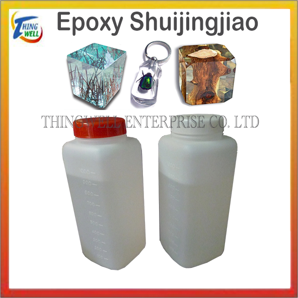 Used to make crafts epoxy resin transparent glue